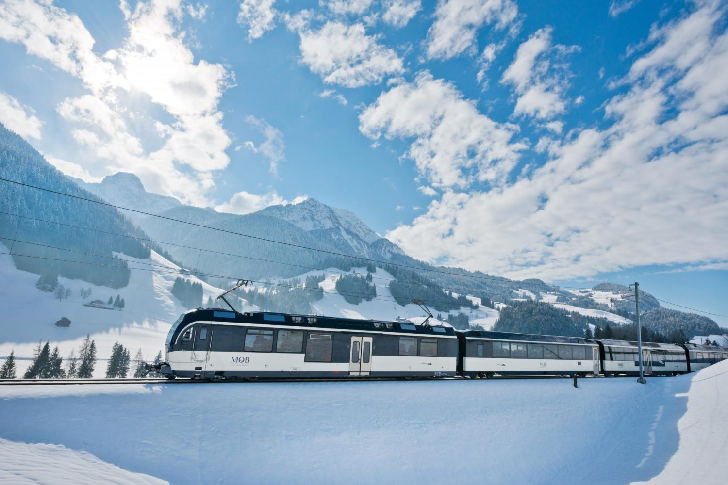 Treinreizen Zwitserland Winter - GoldenPass