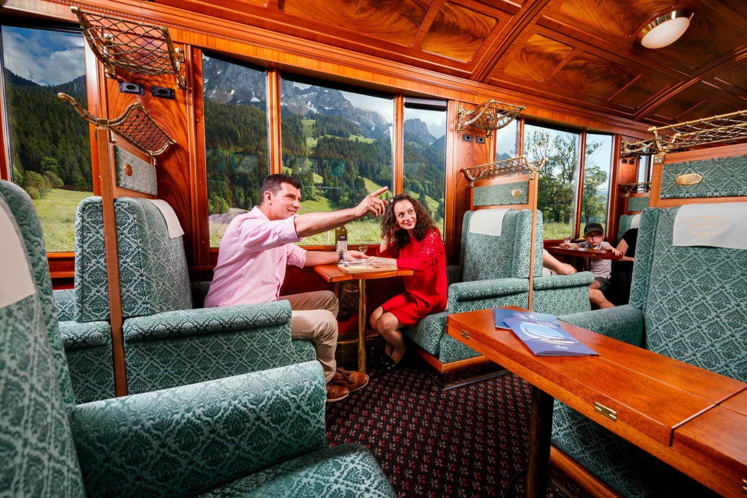 GoldenPass Belle Epoque historische wagons